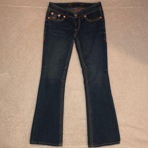 Seven 7 Jeans Denim Stretch Bootcut Size 8